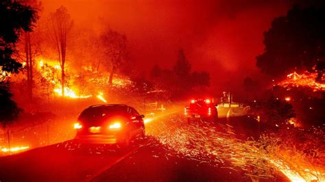 Wildfires forcing evacuations from Southern California to