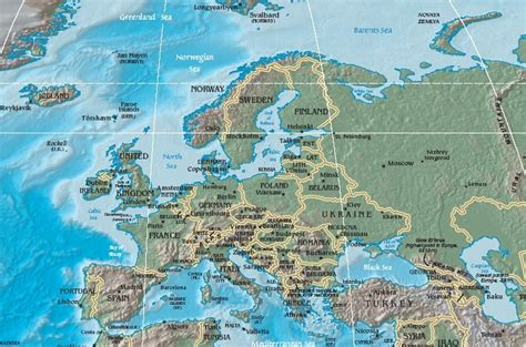 Learn All European Countries and Territories in Arabic