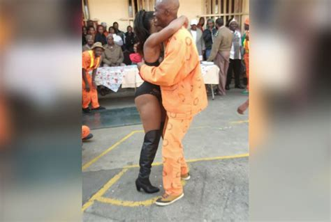 Strip show at notorious South African prison sparks